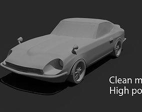 Datsun 240z or Nissan Fairlady Z 3D asset