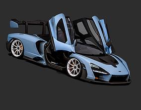 3D model 2018 McLaren Senna