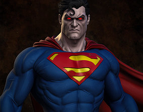 Superman - Statue 3D printable model