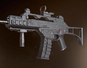3D model G36C 3 skins