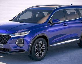 Hyundai SantaFe 2019 3D