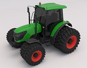 Generic Green Tractor 3D model