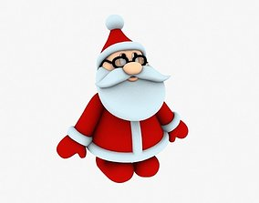 holiday New cool Santa Claus for beautiful 3d print 01