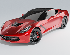 3D model 2014 C7 Chevrolet Corvette Stingray