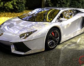 Lamborghini Avandator 3D