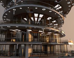 3D house High Rise Building 101
