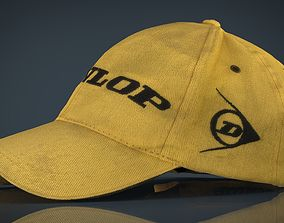 3D model realtime Baseball Cap