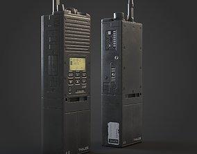 Walkie Talkie Radio 3D asset