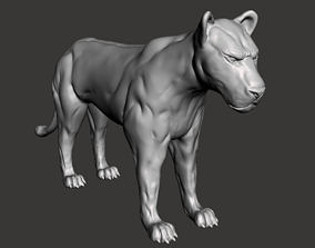 Big Cat 3D print model 3dprint