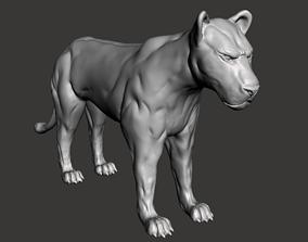 3D print model Big Cat
