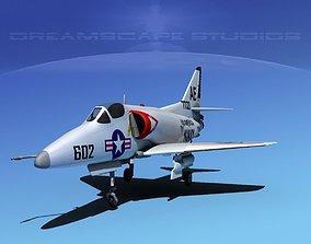 Douglas A-4D Skyhawk V05 USN 3D
