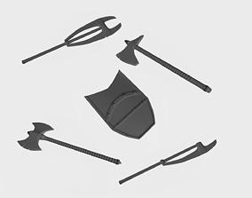 3D print model Medieval weapons