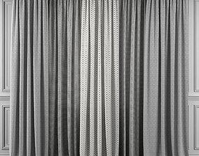 Curtain Set 358 3D model