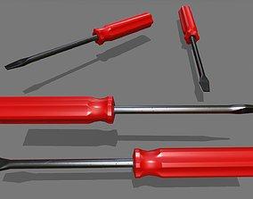 Screwdriver screwdriver 3D asset realtime