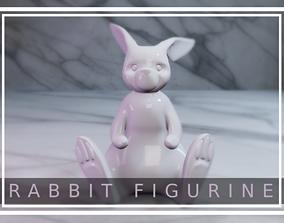 Rabbit Figurine 3D print model