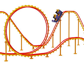 3D Roller Coaster roller