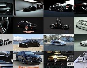3D model BIG pack Affekta Best Concept Car Pack Sport 1