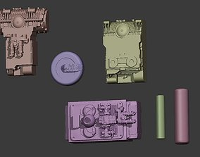3D printable model Boushh bandoleer element