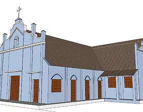 Architecture-Religion-God-Culture-Temple-073 3D model