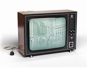 Soviet TV Record V312 3D model