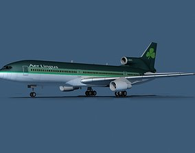 3D model Lockheed L-1011-50 Aer Lingus