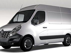Renault Master L1H2 Van 2017 3D model