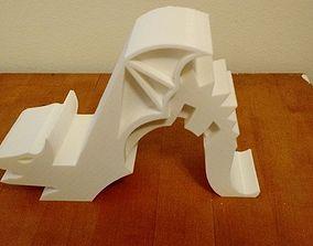 3D print model monster Dragon Phone-Holder