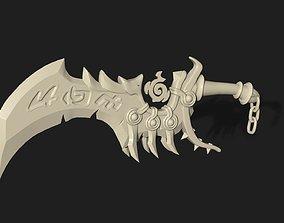 Kingsbane inspired dagger 3D print model