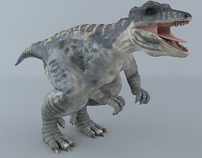 3D model Giganotosaurus giganotosaurus