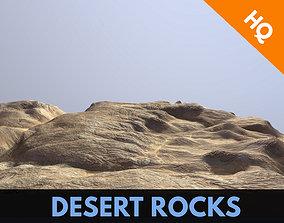 Rocks Terrain Dunes Mountain Cliffs Landscape 3D model 3
