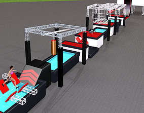Ninja Obstacle Course 3D