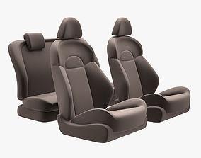 3D model Nissan Juke Chairs