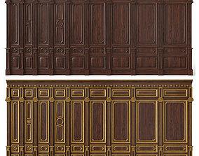 Wooden panels 03 07 3D model