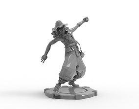 Usopp - Action Pose miniature 3D print model