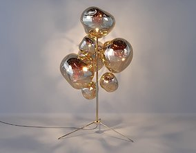tom Tom Dixon MELT STAND CHANDELIER 3D model