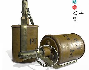 RG-42 Grenade 3D asset VR / AR ready