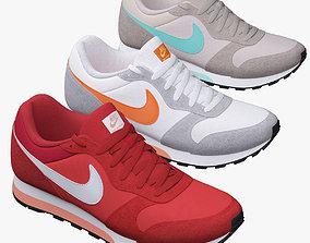 3D model Nike MD Runner 2