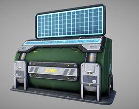Sci Fi Console 01 3D model