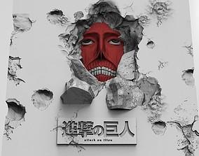 3D print model The Wall Titans Attack on titans Shingeki 1