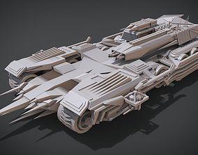Nemesis III Tank 3D print model