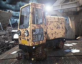 3D model Abandoned Vehicle