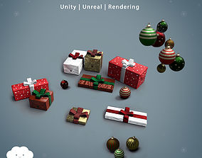 PBR Christmas Pack 3D