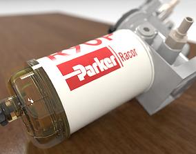 3D asset Parker Racor Diesel Filter 790R10 - R90P