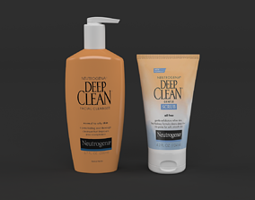 3D model Neutrogena Deep Clean Daily Facial Cleanser