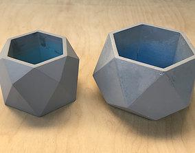 2 planter for flowers decor 3D print model
