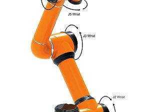 Universal robot AUBO i3 3D model