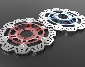EBC Vee Rotor Front Brake Disc 3D model