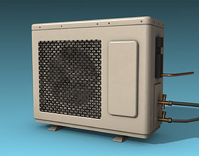 3D model realtime Air conditioner
