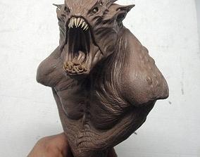 Monster Bust 3D printable model