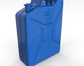 3D asset Jerry Can 3 PBR